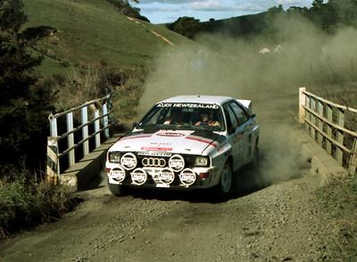 Malcolm Stewart, Audi Quattro.