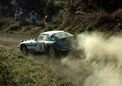 Neil Allport, Mazda RX7.
