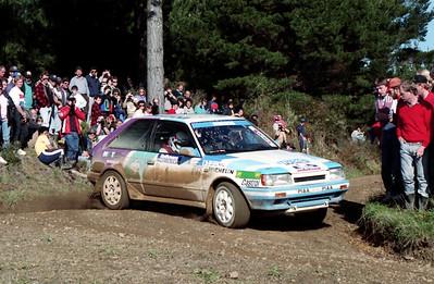 Ingvar Carlsson, Mazda 323 4WD.