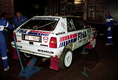 Lancia Delta Intgrale of Didier Auriol.