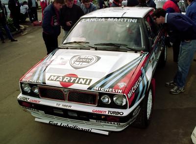Lancia Delta Intgrale of Juha Kankkunen.