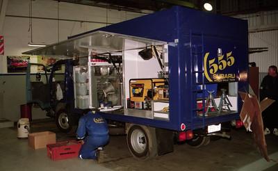 Subaru service truck, Rotorua Service.