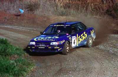 Ari Vatanen, Subaru Legacy.