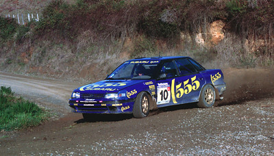 Possum Bourne, Subaru Legacy.