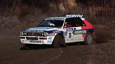 Gustavo Trelles, Lancia Delta HF Integrale.