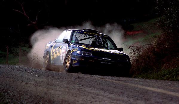 Colin McRae, Subaru Legacy.