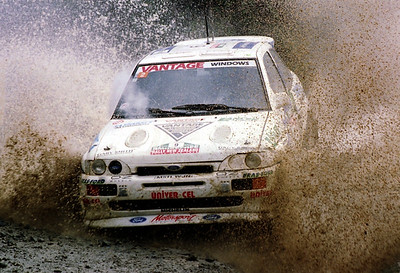 Neil Allport, Ford in Whakarau stage.