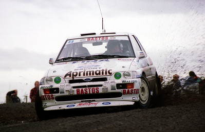 Bruno Thiry, Ford Escort Cosworth.
