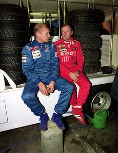 Juha Kankkunen and Tommi Makkinen.