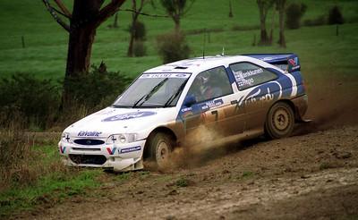 Juha Kankkunen, Ford Escort.