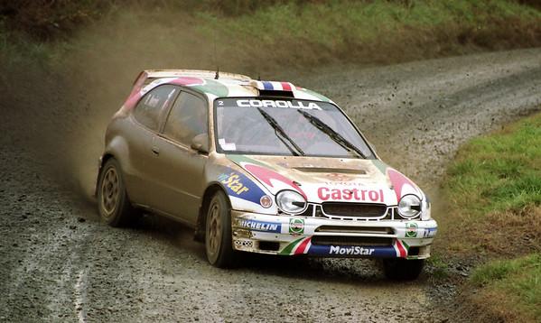 Didier Auriol, Toyota Corolla WRC.