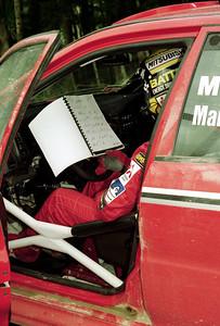 Tommi Makinen, Mitsubishi Lancer Evo V.