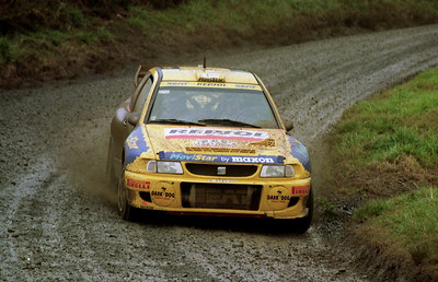 Harri Rovanpera, SEAT Cordoba WRC.