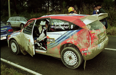 Thomas Radstrom. Ford Focus WRC.