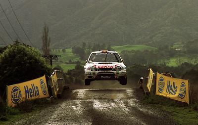 Carlos Sainz, Toyota Corolla WRC.