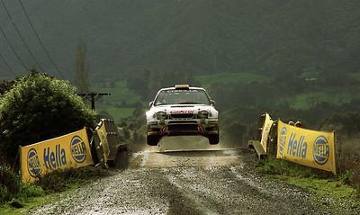 Matthias Kahle, Toyota Corolla WRC.