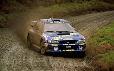Possum Bourne, Subaru Impreza WRC.