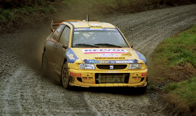 Toni Gardemeister, SEAT Cordoba WRC.