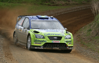 Marcus Gronholm, SS8 Franklin.