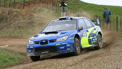 Petter Solberg, SS3 Pirongia North.