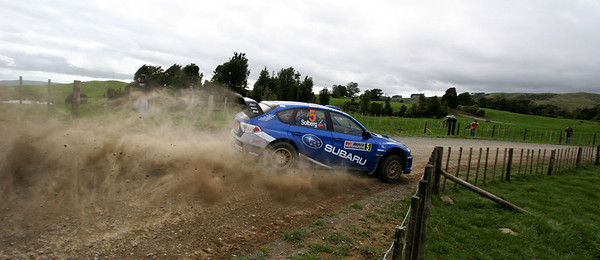 Petter Solberg, SS3, Pirongia West.
