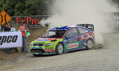 Miko Hirvonen, Ford Focus RS WRC 09, SS6 Brooks 2.
