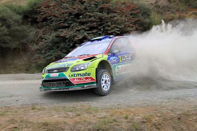 Miko Hirvonen, Ford Focus RS WRC 09, SS16 Te Akau Coast 2.