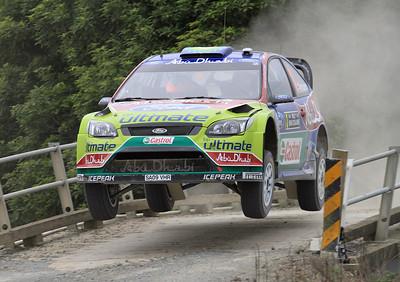 Miko Hirvonen, Ford Focus RS WRC 09, SS2 Brooks 1.