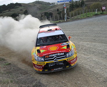 Petter Solberg, Citroen C4 WRC, SS8 Cassidy 2.