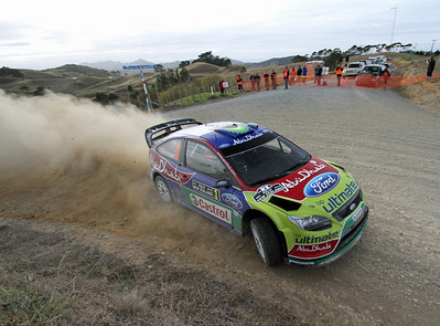 Miko Hirvonen, Ford Focus RS WRC 09, SS8 Cassidy 2.