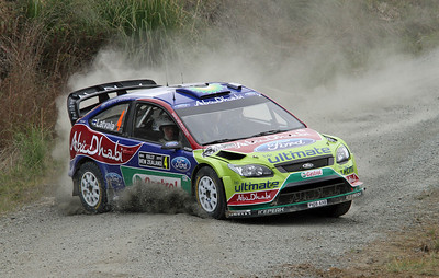 Jari-Matti Latvala, Ford Focus RS WRC 09, SS12 Te Akau Coast 1.