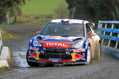 Sebastian Loeb, Citroen DS3 WRC, Qualifying stage.