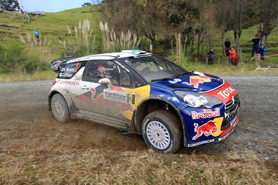 Miko Hirvonen, Citroen DS3 WRC, SS21 Ahuroa.