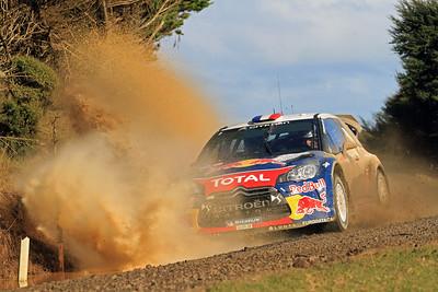 Sebastian Loeb, Citroen DS3 WRC, SS6 Whaanga Coast.