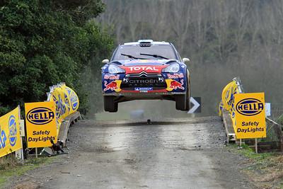 Miko Hirvonen, Citroen DS3 WRC, SS13 Brooks.