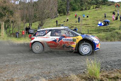 Sebastian Loeb, Citroen DS3 WRC, SS21 Ahuroa.