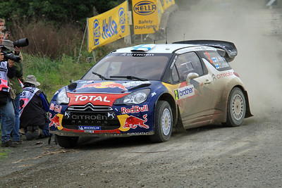 Miko Hirvonen, Citroen DS3 WRC, SS13 Brooks.