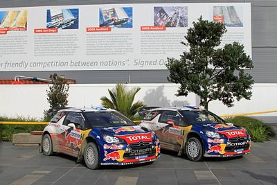 Citroen DS3 WRC, Parc Ferme, Auckland Viaduct Events Centre.