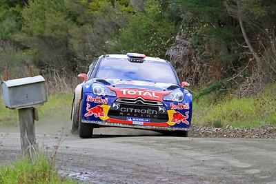 Sebastian Loeb, Citroen DS3 WRC, SS10 Mititai.