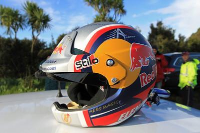 Daniel Elena's helmet.