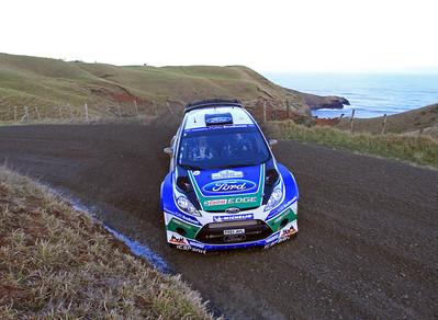 Jari-Matti Latvala, Ford Fiesta RS WRC, SS2 Whaanga Coast.