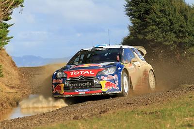 Miko Hirvonen, Citroen DS3 WRC, SS6 Whaanga Coast.