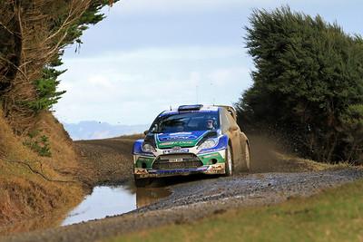 Jari-Matti Latvala, Ford Fiesta RS WRC, SS6 Whaanga Coast.
