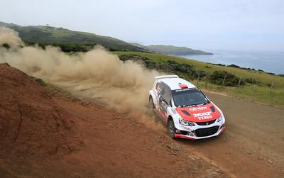 Josh Marston, Holden Barina AP4+, SS2 Whaanga Coast 1.