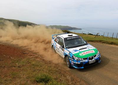 Matt Summerfield, Subaru Impreza STi, SS2 Whaanga Coast 1.