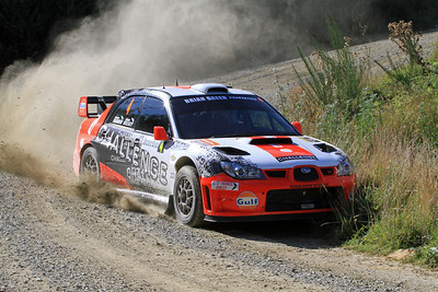 Alex Kelsey, Subaru Impreza, SS6 Razorback Road.