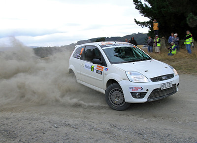 Chris Lange, Ford Fiesta, SS15 Kuri Bush.