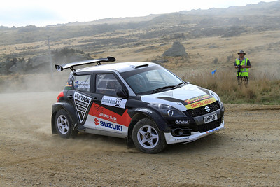 Emma Gilmour, Suzuki Swift, SS 13 Moonlight 2.