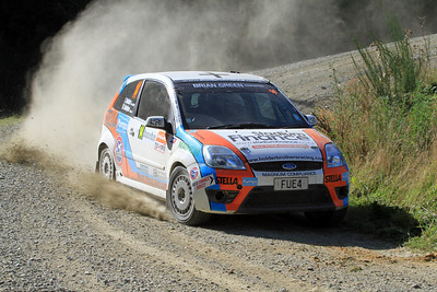 David Holder, Ford Fiesta ST, SS6 Razorback Road.