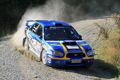 Matt Summerfield, Subaru Impreza, SS6 Razorback Road.